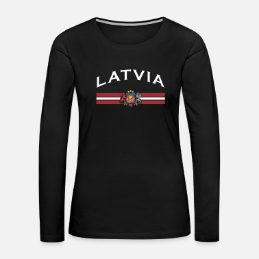 Baltic Sea Latvian Gift Country Forest Beach Baltic Sea - Women's Premium Long Sleeve T-Shirt