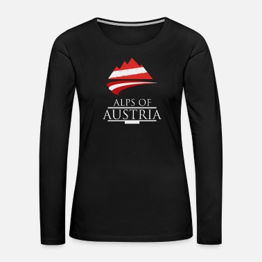 Alps Austrian Alps - Women's Premium Long Sleeve T-Shirt