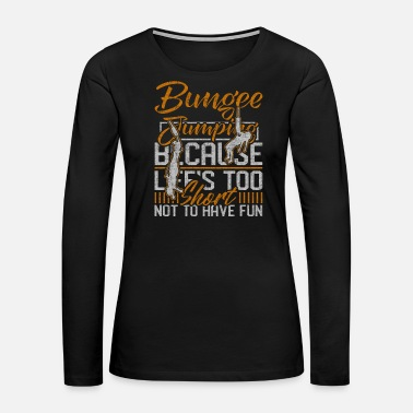 Troops Bungee Jumping - Women's Premium Long Sleeve T-Shirt