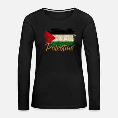 Bank Palestine - Women's Premium Long Sleeve T-Shirt