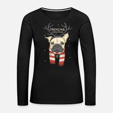 Bulldog French Bulldog Christmas - XMAS - Women's Premium Long Sleeve T-Shirt