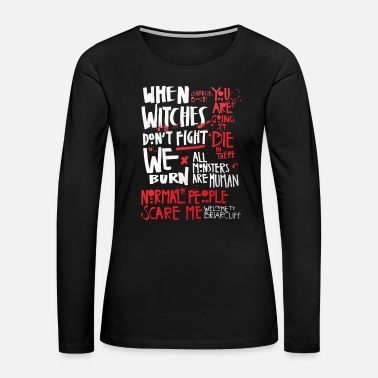 Story American horror story - When witches don't fight - Women's Premium Long Sleeve T-Shirt
