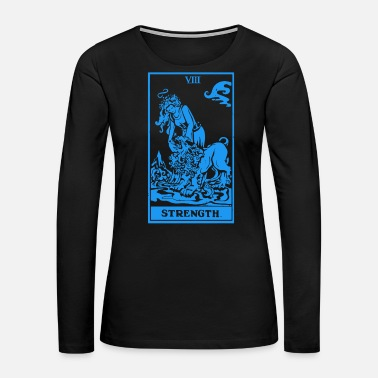 Tarot Tarot Strength - Women's Premium Long Sleeve T-Shirt