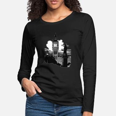 Big Ben Big Ben London - Women's Premium Longsleeve Shirt