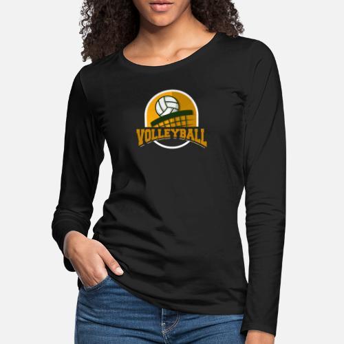 Volleyball T Shirt Cute Volleyball Player Tee Women S Premium