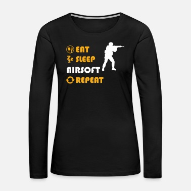 Airsoft Airsoft - present for men and women - Women's Premium Long Sleeve T-Shirt