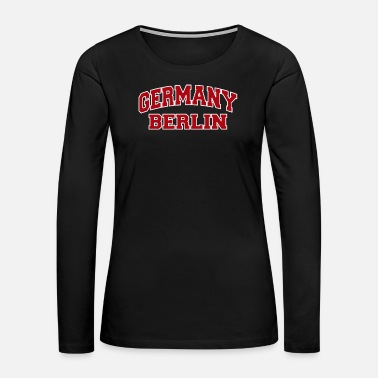 Berlin Berlin Germany City Souvenir - Women's Premium Long Sleeve T-Shirt