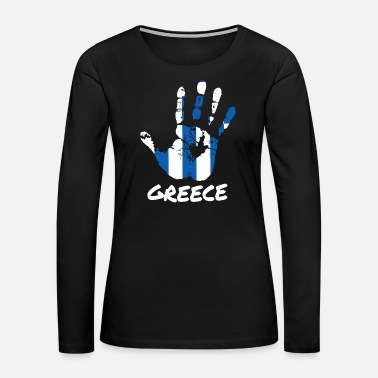 Gas Greece - Women's Premium Long Sleeve T-Shirt