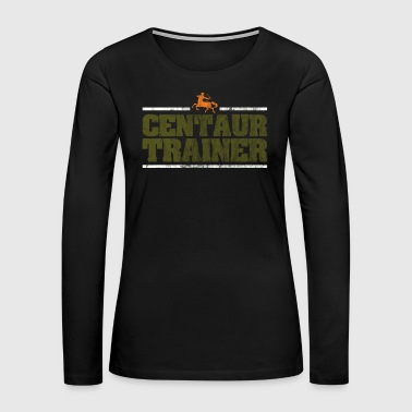 Arrow Centaur centaurus trainer Greek Mythology Gift - Women's Premium Long Sleeve T-Shirt