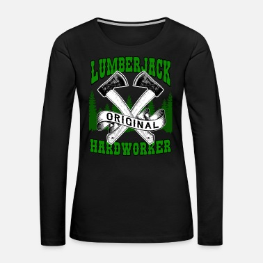 Harvest Lumberjack - Women's Premium Long Sleeve T-Shirt