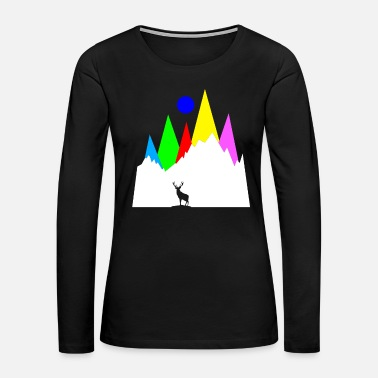 Planet Hiking Nature - Women's Premium Long Sleeve T-Shirt