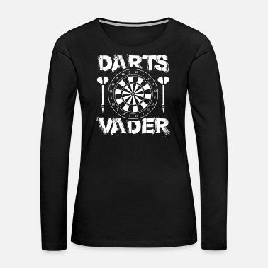 Slice Dart Darts 180 3D Champion Sport Club Association - Women's Premium Long Sleeve T-Shirt
