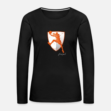 Basket Basketball - Women's Premium Long Sleeve T-Shirt