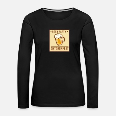 Belly Beer Belly - Women's Premium Long Sleeve T-Shirt