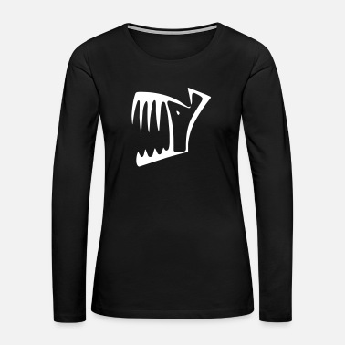 Jaws Jaws - Women's Premium Long Sleeve T-Shirt