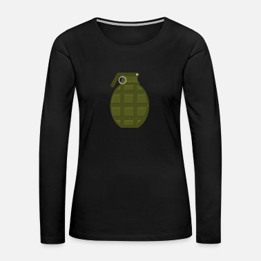 Explosion Grenade Weapon - Women's Premium Long Sleeve T-Shirt