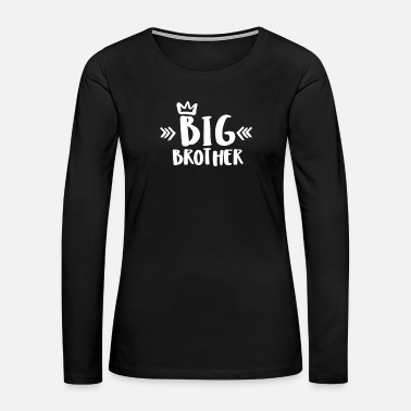 Brother Big Brother - Women's Premium Long Sleeve T-Shirt