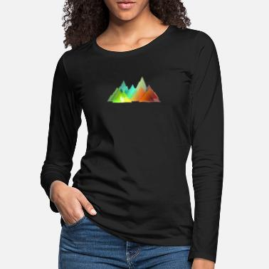Bmx Double MTB Colors (front and back) - Women's Premium Longsleeve Shirt