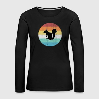 Squirrel Squirrel - Women's Premium Long Sleeve T-Shirt