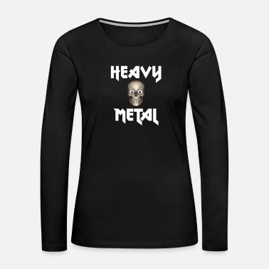 Hard Rock Heavy Metal - Women's Premium Long Sleeve T-Shirt