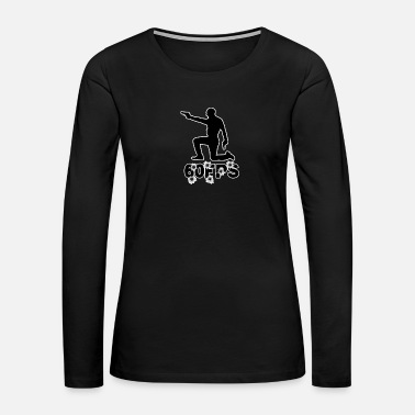 Ego Gift Game Amazing Ego Shooter Gamer Boy Shirt - Women's Premium Long Sleeve T-Shirt