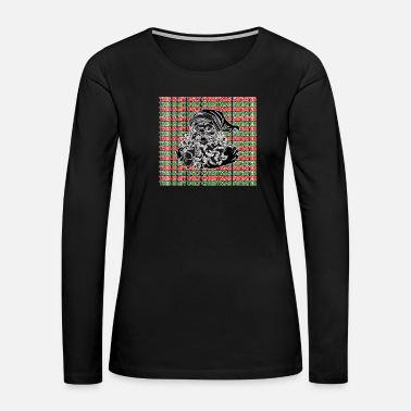 Cold this is my ugly christmas sweater - Women's Premium Long Sleeve T-Shirt