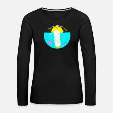 Deep Throat iceberg - Women's Premium Long Sleeve T-Shirt