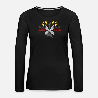 Hard Rock hard rock - Women's Premium Long Sleeve T-Shirt