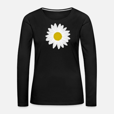 Daisy Colorful blossom Marguerite - Women's Premium Long Sleeve T-Shirt