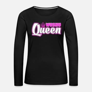 Judo Wushu Queen Cute Martial Arts Training - Women's Premium Long Sleeve T-Shirt