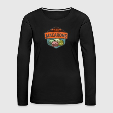 News Macaron - Women's Premium Long Sleeve T-Shirt