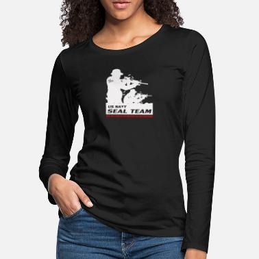 Us Seal Seal Team US Navy - Women's Premium Longsleeve Shirt