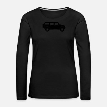 Limousin Sports Utility Vehicle - Women's Premium Long Sleeve T-Shirt