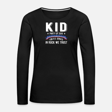 Senate Kid For US Senate 2018 Election In Rock We Trust - Women's Premium Long Sleeve T-Shirt
