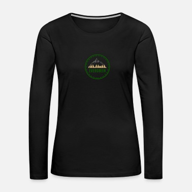 Evergreen Evergreen in the Mountins - Women's Premium Long Sleeve T-Shirt