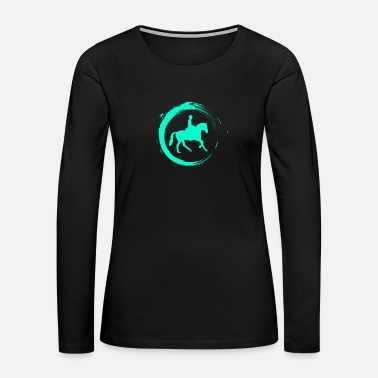 Horse Riding Ride - Women's Premium Long Sleeve T-Shirt