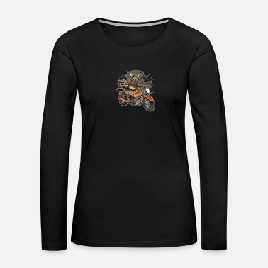 Bike Viking Motorcycle - Women's Premium Long Sleeve T-Shirt