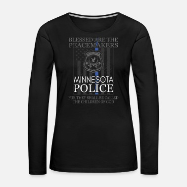 Sheriff Minnesota Police Support Saint Michael Police - Women's Premium Long Sleeve T-Shirt