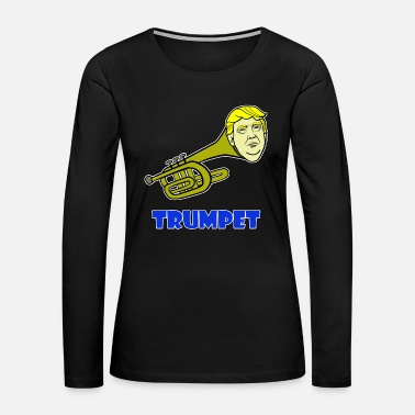 Senate Trump - Trumpet - Women's Premium Long Sleeve T-Shirt