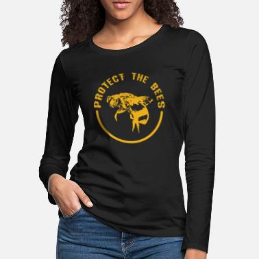 Save Save the Bees - Women's Premium Longsleeve Shirt