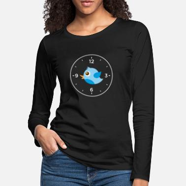 Ornithology Birdwatching Bird Ornithology - Women's Premium Longsleeve Shirt