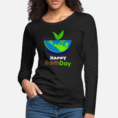 Tree Earthday Mother Earth - Women's Premium Longsleeve Shirt