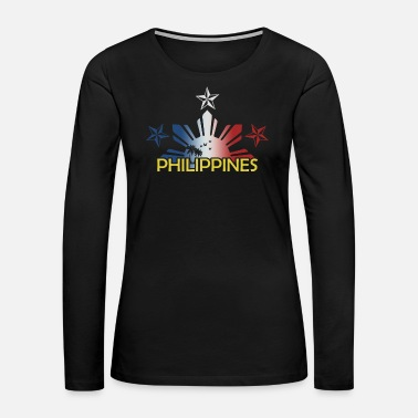 Brother Philippines Filipino Gift Country Manila Vacation - Women's Premium Long Sleeve T-Shirt