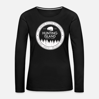 Affection Hunting Island State Park South Carolina SC - Women's Premium Long Sleeve T-Shirt