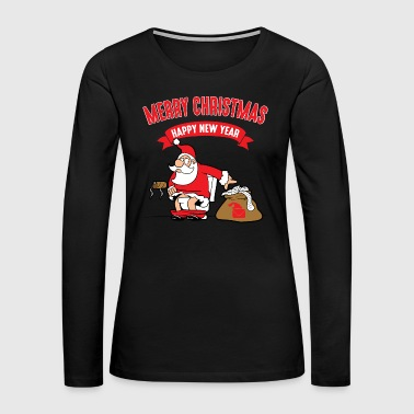 Santa Claus Funny Cool Cute Santa Claus Christmas Xmas Gifts - Women's Premium Long Sleeve T-Shirt