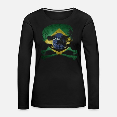 Record Champion Brazil - Women's Premium Long Sleeve T-Shirt