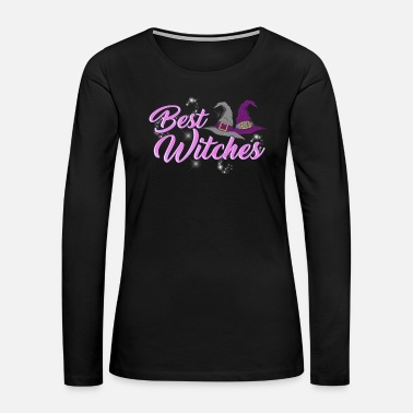 Witch Cute Best Witches Halloween Witch - Women's Premium Long Sleeve T-Shirt