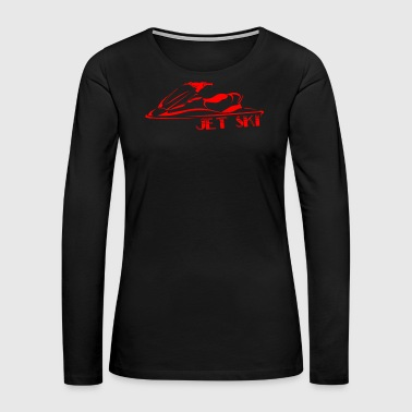 So Fly Jet Ski - Jet Ski - Women's Premium Long Sleeve T-Shirt