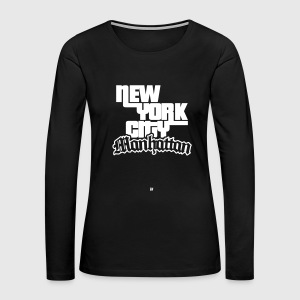 NYC: Manhattan - Women's Premium Long Sleeve T-Shirt