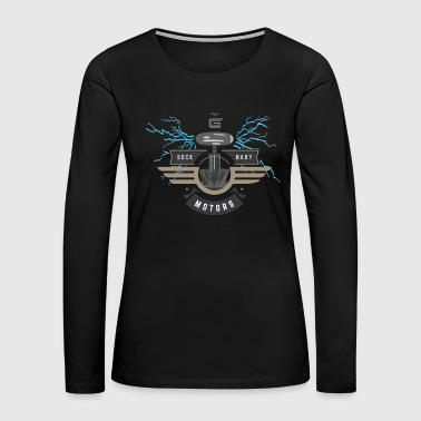 Car Guru - Sock Baby Motors - Women's Premium Long Sleeve T-Shirt